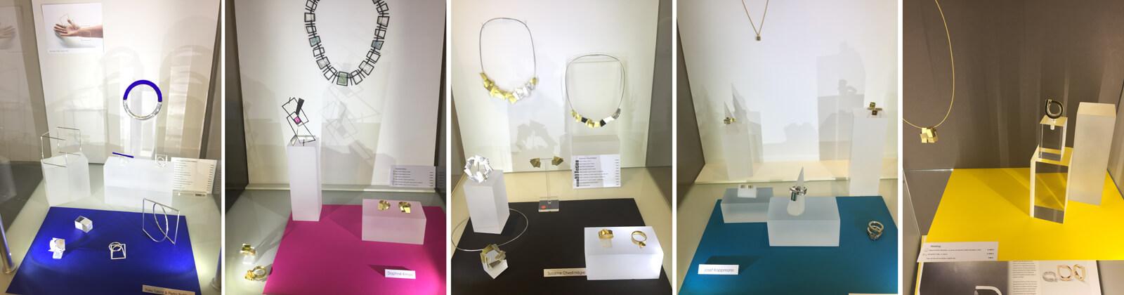 Opening Exposition BAUHAUS vernissage vitrines