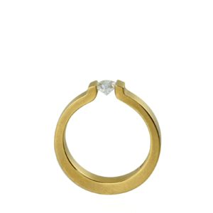 Bague Tension Open End Or Jaune