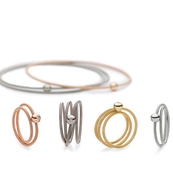 Bagues et bracelets Colette