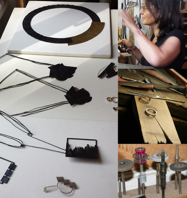 Bijoux et outils de Claire Wolfstirn