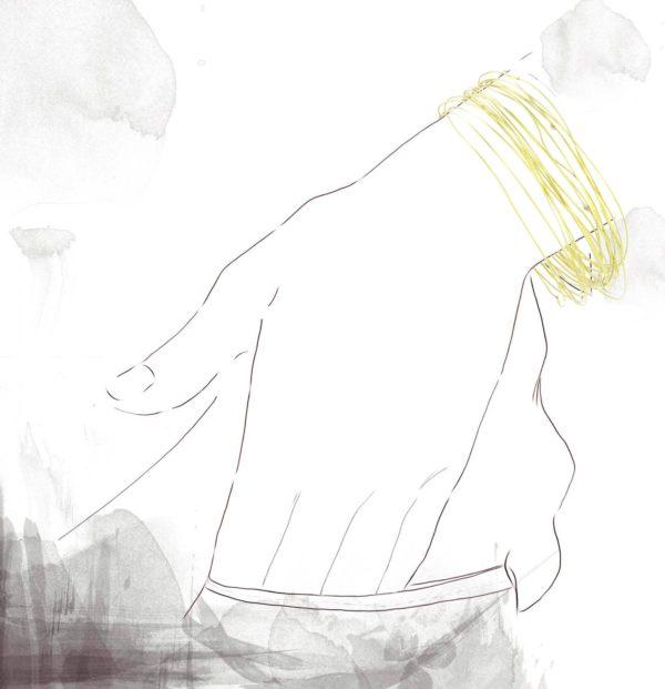 Bracelet Rayon de Soleil Or jaune