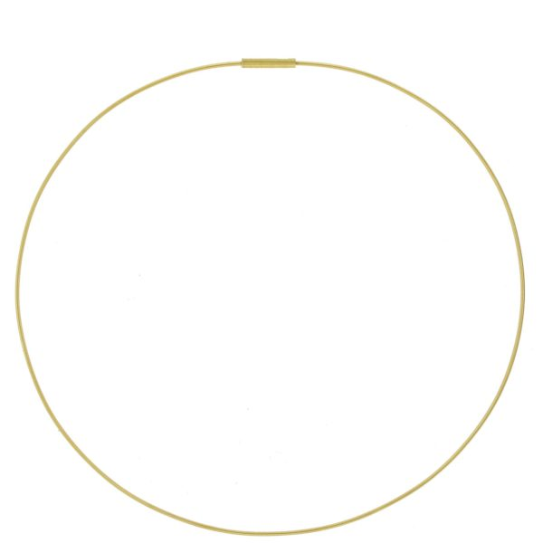 Collier Niessing Or Jaune 1mm, 40 à 44cm