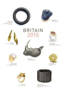 exposition Britain2015 carton d'invitation verso