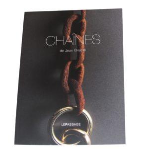 """Livre """"Chaînes"""" de Jean Grisoni"""