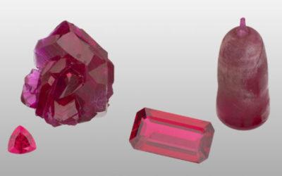 Rencontre d'un fabricant de pierres de synthèse : saphirs et rubis
