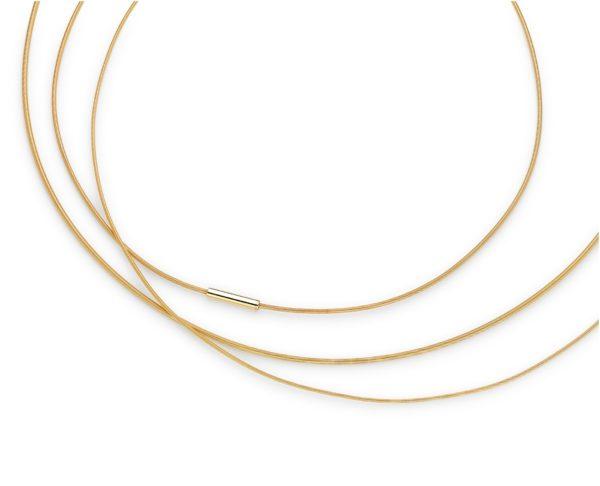 3 Colliers Niessing Coil Or, diamètres variés