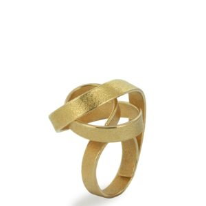 Bague Curl en Or Fairtrade