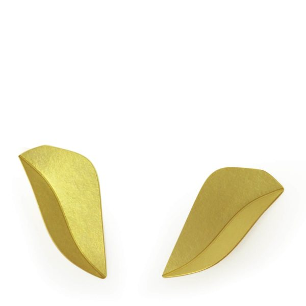 "Clous d'Oreilles ""Swift"" en Or Jaune"