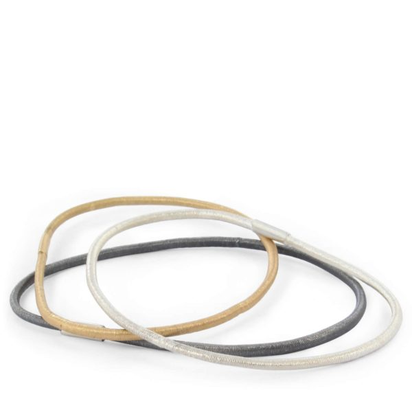 "Bracelet ""I've Got You Original"" Argent Oxydé ou Vermeil"