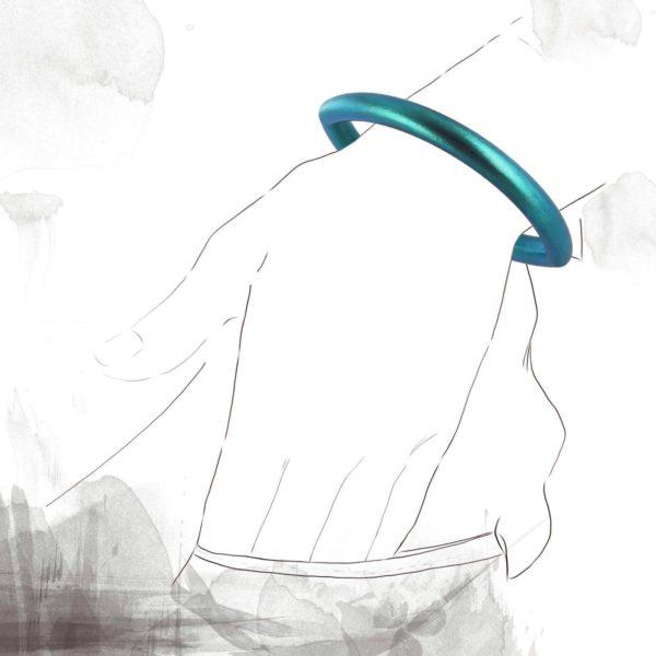 Bracelet Oeil de Moscou Bleu