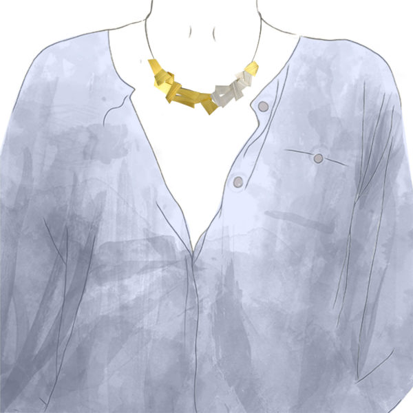 Collier 17 éléments