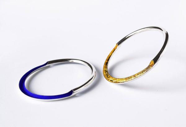 Deux Bracelets Rio Argent