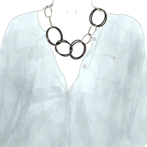 Collier aux Maillons Ovales