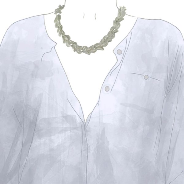 """Collier """"Curly Shell"""""""