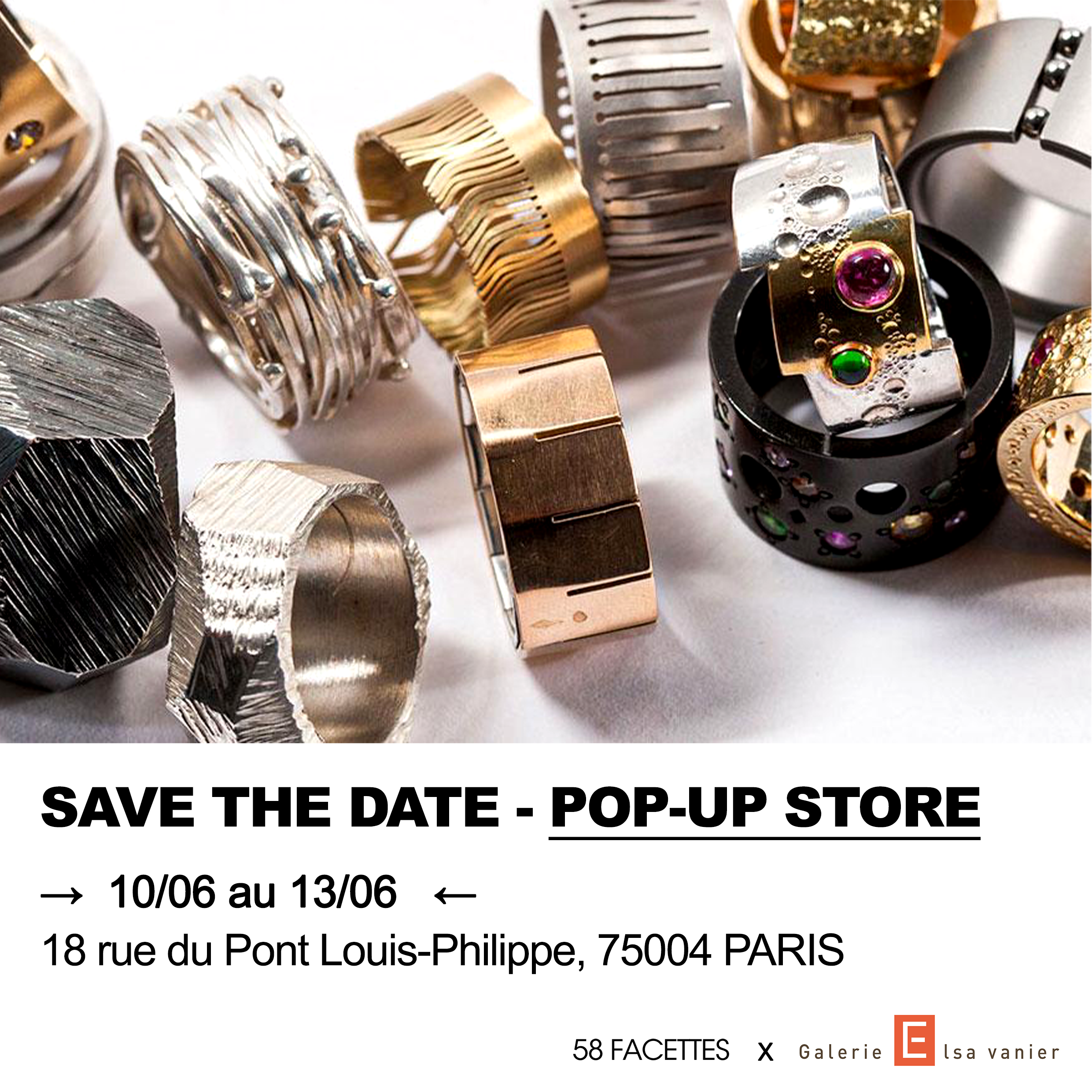 Pop-up Store - accueil