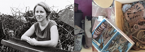 Marianne Anselin, friche et objet d'ateliers