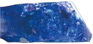 cristal brut de tanzanite