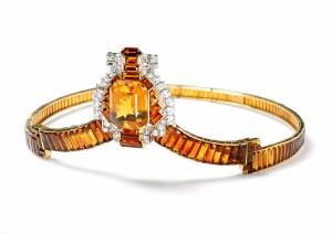 Collection Cartier, Diadème citrine diamants