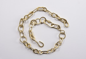 Collier sauvage, or jaune, Jean Grisoni