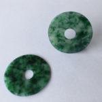 Disques de jade néphrite