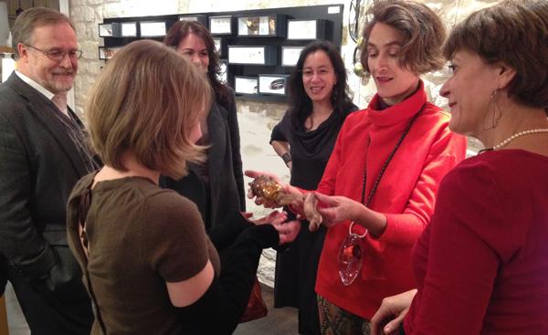 Galerie Elsa Vanier : Agathe Saint Girons remet le témoin à Marianne Anselin